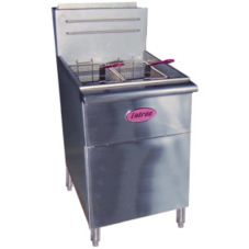 Entree F5-N Free-Standing 5-Tube Natural Gas Fryer