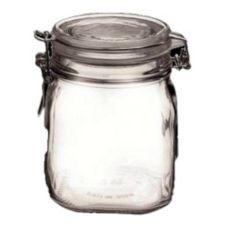 Bormioli Rocco 4949Q456 29 Oz Clear Top Fido Jar - 12 / CS