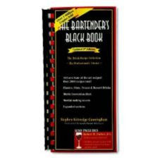 "Franmara® 6140 9th Edition ""The Bartender's Black Book"""