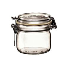 Bormioli Rocco 4949Q458 7-3/4 Oz Clear Top Fido Jar - 12 / CS