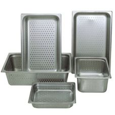 "Update NJP-1002PF Full-Size 2.5"" Deep Perforated Steam Table Pan"