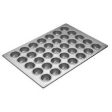 Focus Foodservice 905575 Aluminized Steel 35-Cup Cupcake Pan