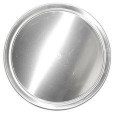 "Allied Metal 10"" Hard Aluminum Pizza Tray"