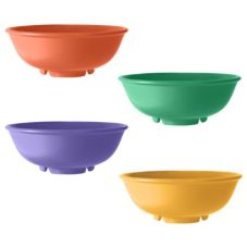 G.E.T. Diamond Mardi Gras™ Mixed Colors 24 Oz. Melamine Bowl
