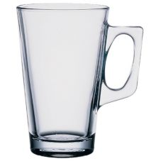 Cardinal 104035 Elemental Vela 8-1/4 Oz. Handled Glass Mug - 12 / CS