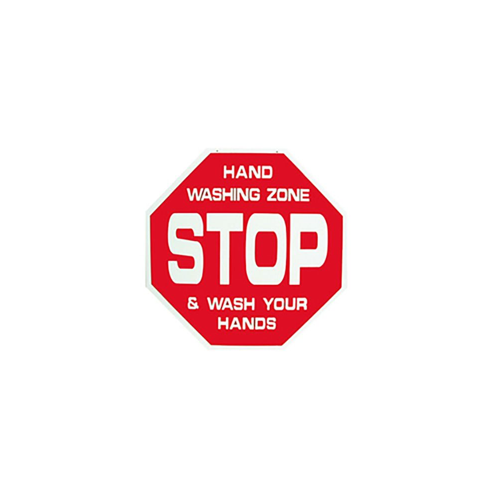 Front Line Sales Hand Washing Zone Sign