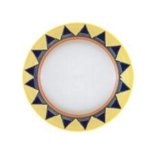 "Homer Laughlin 2098086 Riviera Salerno© 10-1/4"" Plate - 12 / CS"