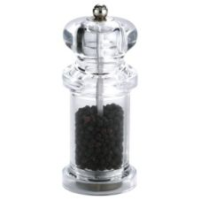 "Zyliss 5"" Clear Pepper Grinder"