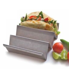 Orion SS94-A(N) Stainless Steel Natural Satin Reversible Taco Holder