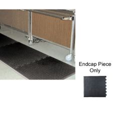 "NoTrax 354-605 Footsaver® 28 x 31"" Black End Piece Floor Mat"