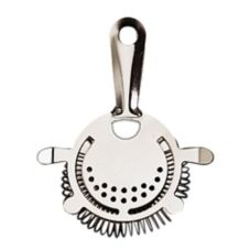 American Metalcraft S209 S/S 4-Prong Bar Strainer