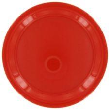 """Gessner™ DW75R1P R Melamine 7.5"""" Red Round Plate - Dozen"""