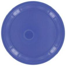 "Gessner™ DW75R1P BB Melamine 7.5"" Berry Blue Plate - Dozen"