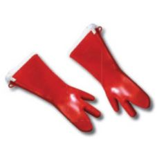 Tucker CQK97189 3-Finger Silicon Glove with Removable Liner - Pair