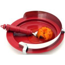 North Coast Medical NC35241-2 Adjustable Large S/S Plate Food Guard