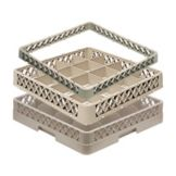Traex® TR4DA 16 Compartment 2 Extender (1 Open) Beige Cup Rack