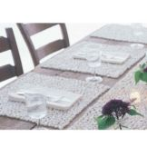 "Design Ideas BeachStone™ 15""x15"" White Placemat"
