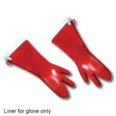 Tucker Safety 87185 Liner For 3-Finger Silicone Glove - Pair