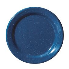 "G.E.T.® BF-060-TB Texas Blue 6-1/4"" Melamine Plate - 48 / CS"