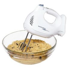 Hamilton Beach 62695V White 6 Speed Hand Mixer