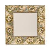 "G.E.T. ML-92-MO Mosaic™ 16"" Square Melamine Plate - 6 / CS"
