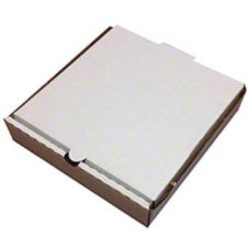 "Inglese Box Company 25647715 7"" E-Flute Pizza Box - 50 / CS"