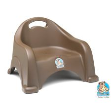 Koala Kare KB327-09 Brown Stackable Space-Saving Booster Seat