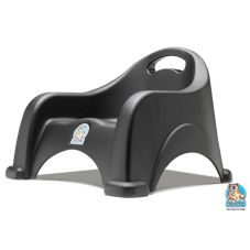 Koala Kare Black Stackable Space-Saving Booster Seat