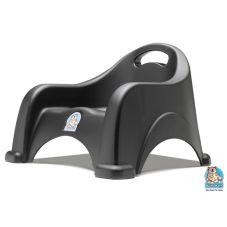 Koala Kare KB327-02 Black Stackable Space-Saving Booster Seat