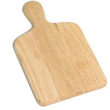 "TableCraft 79 13"" x 7-3/4"" Natural Wood Bread Cutting Board"