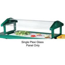 "Cambro® Replacement Sneeze Guard 63-1/2"" Plexi Glass Panel"