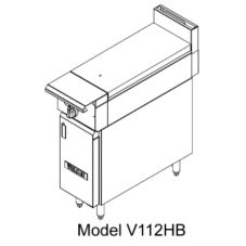 Vulcan Hart V112H V-Series HD Gas Range with (1) 30,000 BTU Burner