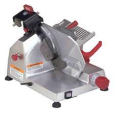 "Berkel 823E Gravity Feed Meat Slicer With 9"" Knife And Sharpener"