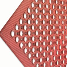 San Jamar® KM1200B Red Light Duty EZ-Mat