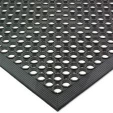 San Jamar® KM1100B Black Light Duty EZ-Mat
