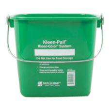 San Jamar® KP196KCGN Green 6-Quart Kleen-Pail®