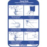 San Jamar® HWWLCT Hand Washing Station Smart Chart