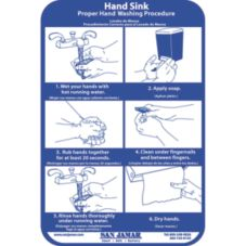 San Jamar® Hand Washing Station Smart Chart