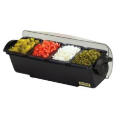 San Jamar® BD4014 The Dome® Condiment Center