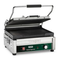 Waring® WPG250 Panini Supremo™ 120V Grill w/ Grooved Plates