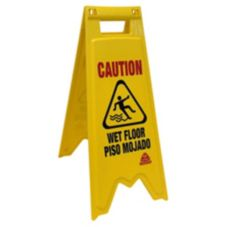 O-Cedar® Plastic Bilingual Wet Floor Sign