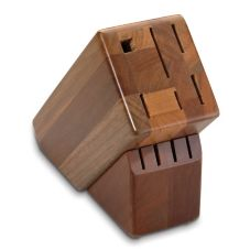 Victorinox 41490 Oak Slant 10-Slot Knife Block without Knives