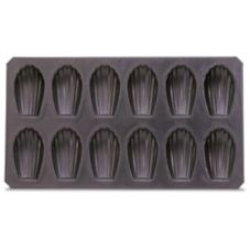 J.B. Prince M495 Non-Stick 12 Form Madeleine Biscuit Mold