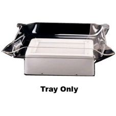 J.B. Prince C537 T Clear Glo-Ice Rectangular Tray