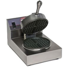 NEMCO® 7030 Single Waffle Cone Baker With Aluminum Grid