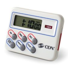 CDN® Multi-Task Timer & Clock w/ Memory Feature