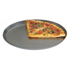 "American Metalcraft CAR12HC Anodized Aluminum 12"" Pizza Pan"