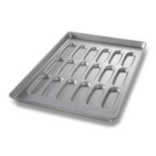 Chicago Metallic 42435 ePan Glazed Hot Dog  Bun Pan / Cluster Of 18
