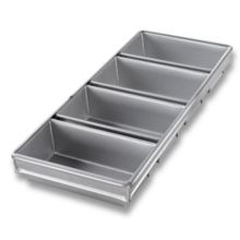 Chicago Metallic 44245 Glazed 4-Strap Open Top Bread Pan