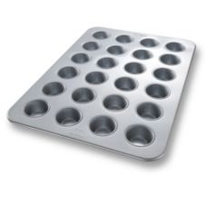 Chicago Metallic 45605 Glazed Aluminized Steel 24-Muffin / Cupcake Pan